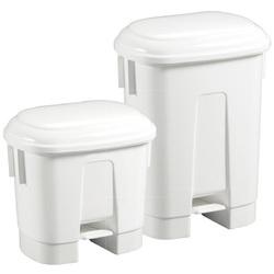Контейнер пластиковый Filmop Sirius с педалью (белый, 60 литров )