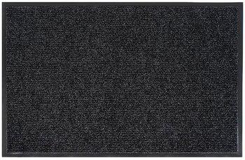 Коврик  8 х 400 х 600 мм КОМФОРТ ворсовый на ПВХ основе, цвет серый