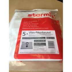 Флисовый мешок пылесборник FBV 25/35 (5 шт) для пылесоса Starmix (для бака от 25 до 35 л)