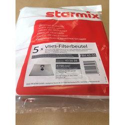 Флисовый мешок пылесборник FBV 45/78 (5 шт) для пылесоса Starmix (для бака от 45 до 78 л)