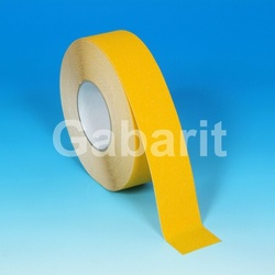H3401Y - 25мм х 18,3м лента HESKINS желтая абразивная противоскользящая самоклеящаяся