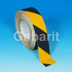 H3401D - 25мм х 18,3м лента HESKINS черно-желтая абразивная противоскользящая самоклеящаяся