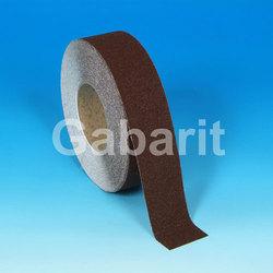 H3401G - 25мм х 18,3м лента HESKINS коричневая абразивная противоскользящая самоклеящаяся