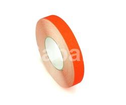 H3401O - 25мм х 18,3м лента HESKINS оранжевая абразивная противоскользящая самоклеящаяся