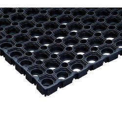 Коврик 400 х 600 х 22 мм резиновый ячеистый (коврик с отверстиями)