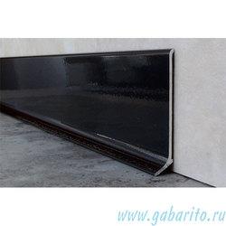 Плинтус алюминиевый 60х11х2500 мм L-образный с полимерным покрытием, цвет по RAL
