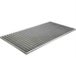 Решетка стальная оцинкованная ячейка 33х11 мм, 500х500 мм, высота 30 мм