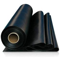 Гладкое резиновое рулонное напольное покрытие 2 мм х 1,2х10 м