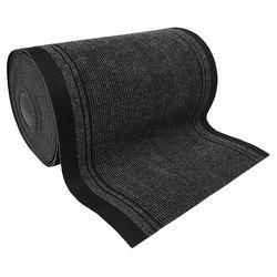 Ворсовое рулонное влаговпитывающее покрытие 66 см х 20 м, толщина 6 мм, цвет серо-черный, коричнево-черный