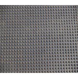 Коврик 900 х 1500 х 11 мм резиновый с шипами, цвет черный