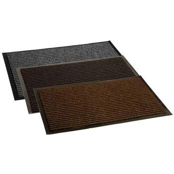 Коврик 8 х 1200 х 2500 мм ворсовый СТАНДАРТ на ПВХ основе, цвет серый, коричневый