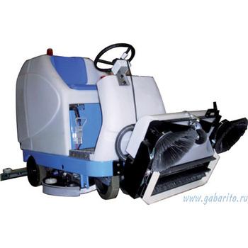 Поломоечная машина Фиорентини UNICA 100 с местом для оператора (с дисковыми щетками)