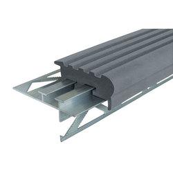 Уверенный Шаг (УШ-50) закладной алюминиевый профиль противоскользящий, длина 1,2 м, цвет черный, темно-коричневый, коричневый, серый, бежевый, цена за 1 шт.