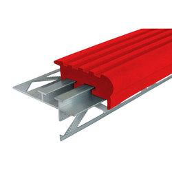 Уверенный Шаг (УШ-50) закладной алюминиевый профиль противоскользящий, длина 1,2 м, цвет Жёлтый, Синий, Красный, Ярко-Зелёный, Белый, Голубой, цена за 1 шт.