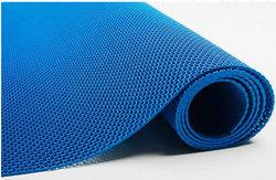 Zig-Zag Premium, 4,5 мм x 90 см х 10 м, ячеистое рулонное противоскользящее покрытие литое (без склейки), цвет синий, серый, черный
