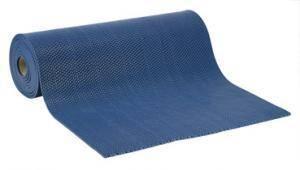 Ячеистое рулонное противоскользящее покрытие Zig-Zag, 5 мм x 120 см х 15 м, цвет синий, серый, зеленый, коричневый, черный, красный
