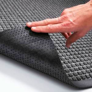 600 х 900 мм грязезащитный ворсовой ковер на резиновой основе Guzzler